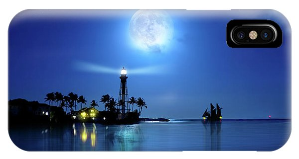 Lighting The Lighthouse IPhone Case