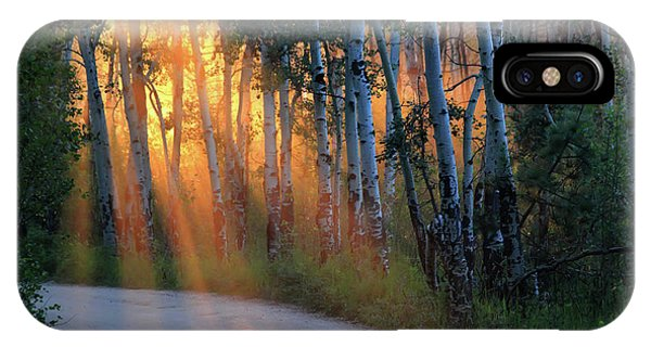IPhone Case featuring the photograph Lighting The Way by Shane Bechler