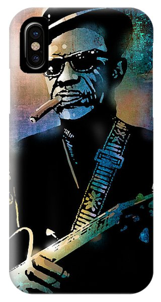 Lightnin Hopkins IPhone Case