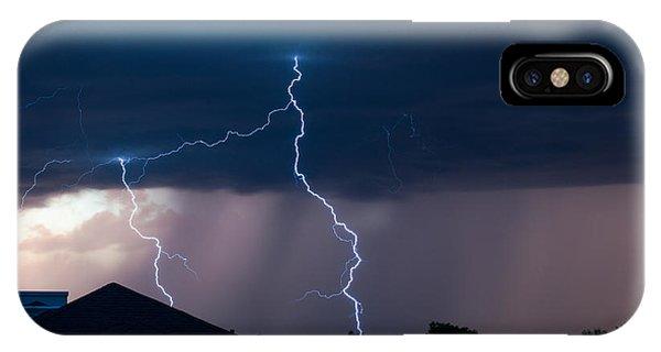 Lightning 2 IPhone Case