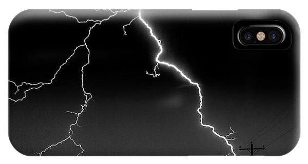 Lightning Bolt IPhone Case