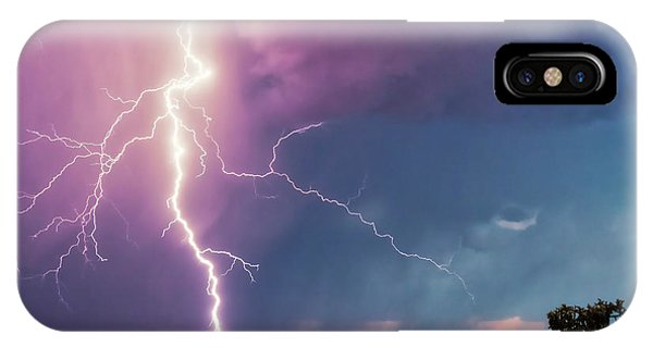 Lightning Dancer IPhone Case