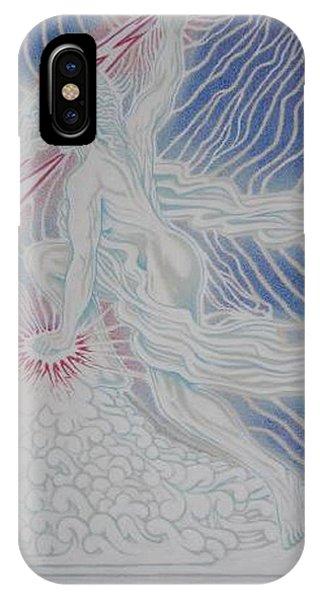 iPhone Case - Lightning Goddess by Jacki Randall