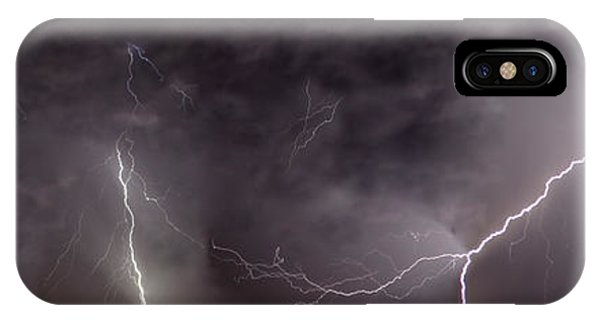 Lightning Over Perris IPhone Case