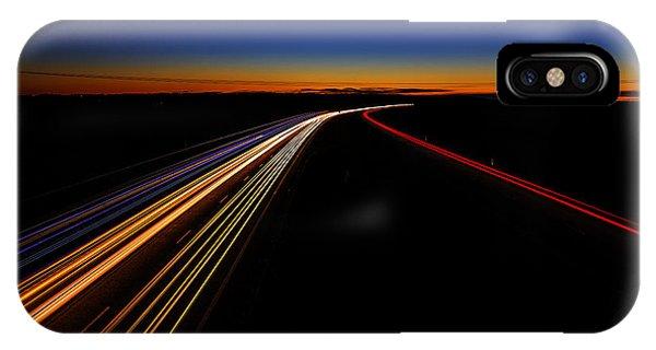 Salo iPhone Case - Lights In The Night by Veikko Suikkanen
