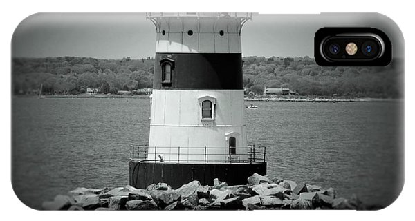 Lights Out-bw IPhone Case