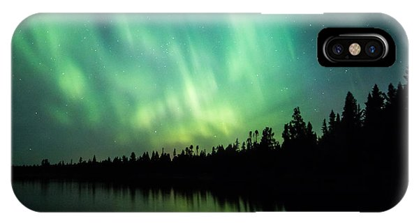 Lights Over Moose Lake IPhone Case