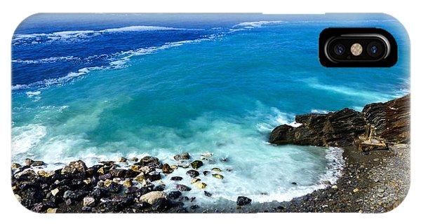 Ligurian Coastline IPhone Case