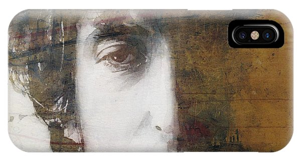 Bob Dylan iPhone Case - Like A Rolling Stone  by Paul Lovering
