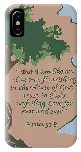 Like An Olive Tree IPhone Case