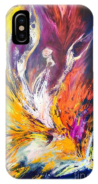 Like Fire In The Wind IPhone Case