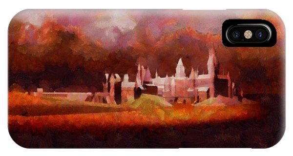 Strange iPhone Case - Like Hogwarts by Esoterica Art Agency