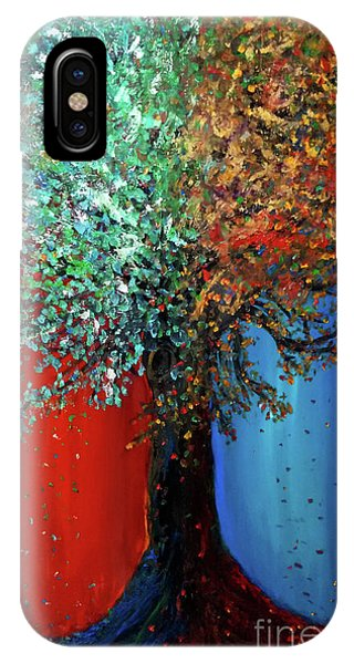 Like The Changes Of The Seasons IPhone Case