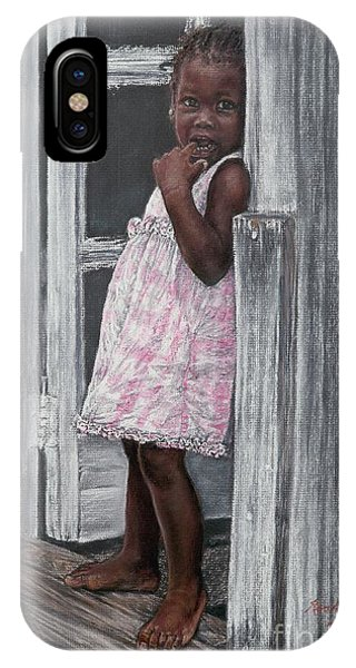 Lil' Girl In Pink IPhone Case