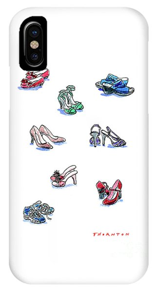 L'il Shoes IPhone Case