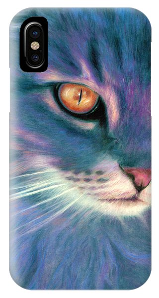 Lilac Cat IPhone Case
