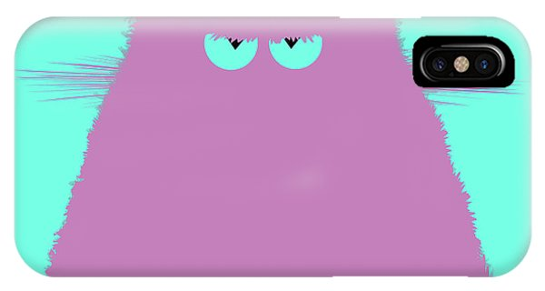 New Trend iPhone Case - Lilac Cat by Zaira Dzhaubaeva