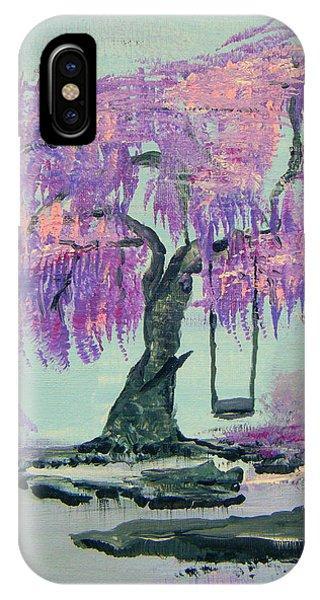 Lilac Dreams- Prince IPhone Case