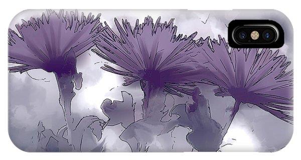 Lilac Fancy IPhone Case