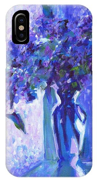 Lilac Rain  IPhone Case