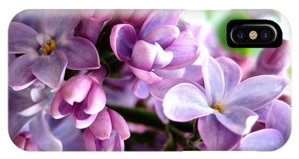 Lilacs IPhone Case