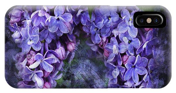 Lilacs Frenchy Scruff IPhone Case