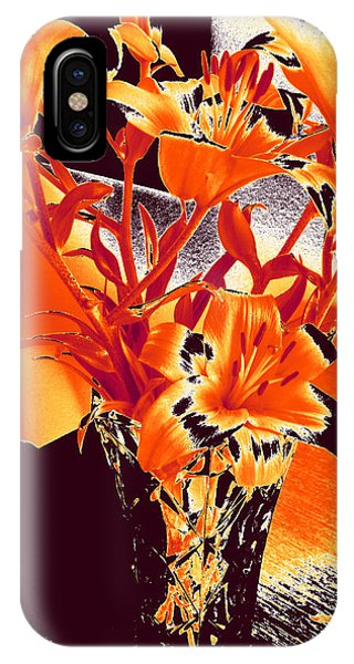 Lilies #2 IPhone Case