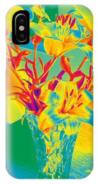 Lilies #3 IPhone Case