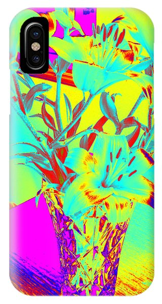 Lilies #4 IPhone Case