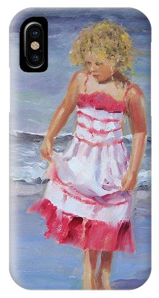 Blond iPhone Case - Lillian by Laura Lee Zanghetti