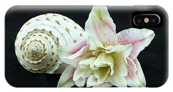 Lily And Shell IPhone Case