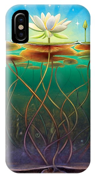 Water Lily - Transmute IPhone Case