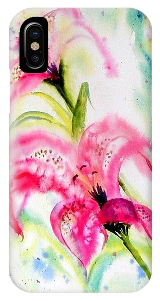 Lily Folly IPhone Case