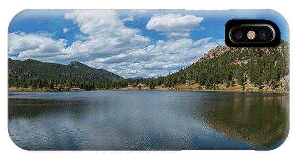 Lily Lake Panorama  IPhone Case