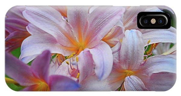 Lily Lavender Closeup IPhone Case