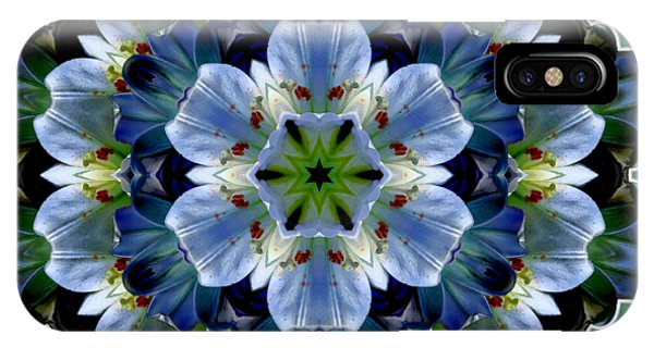 Lily Medallion IPhone Case