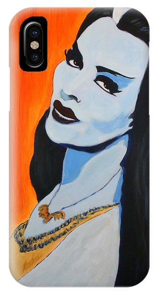Lily Munster - Yvonne De Carlo IPhone Case