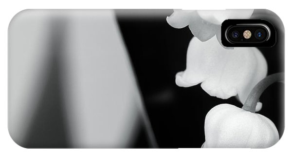 Lily Of The Valley Abstract IPhone Case