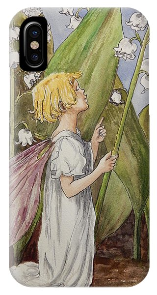 Lily Of The Valley Fairy After Cicely Mary Barker IPhone Case