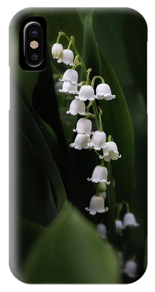 Lily iPhone Case - Lily Of The Valley by Tom Mc Nemar