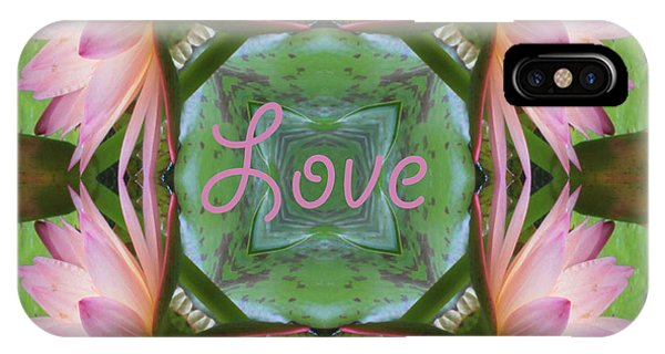 Lily Pad Love IPhone Case