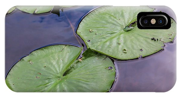 Lily Pad Reflections IPhone Case