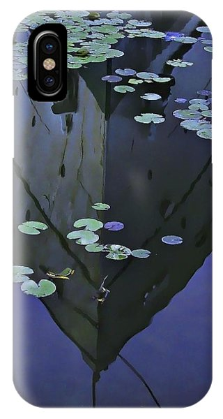 Lily Pads And Reflection IPhone Case