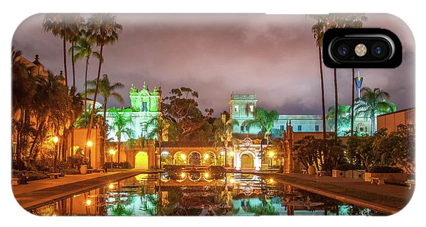 Lily Pond At Night IPhone Case