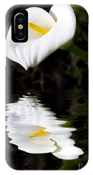 Lily Reflection IPhone Case