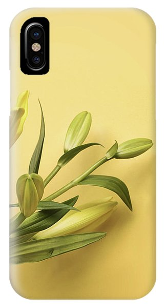 Lilly iPhone Case - Lily Yellow by Mark Rogan