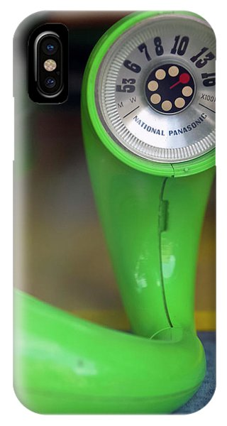 Lime Green Twisted Radio IPhone Case