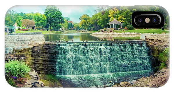 Lime Kiln Park Waterfall IPhone Case