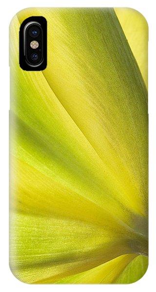 Lime Tulip IPhone Case