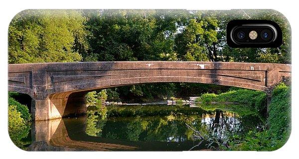 Lime Valley Bridge IPhone Case